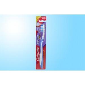 Conj 12 escovas de dentes zig-zag colgate