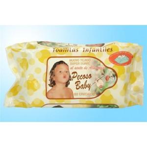 Toalhita infantil oleo amendoa c/80 unid