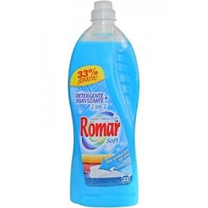 Detergente e amaciador 2 em 1 romar 2 lt