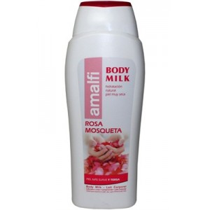 Body milk rosa mosqueta 500 ml Amalfi